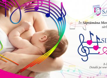 Asociația SAMAS celebrează Simfonia Alăptării