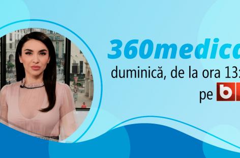 ANUNȚ: Emisiunea 360MEDICAL de la B1 TV din 11 iulie 2021, despre lipsa unor medicamente vitale în boli rare