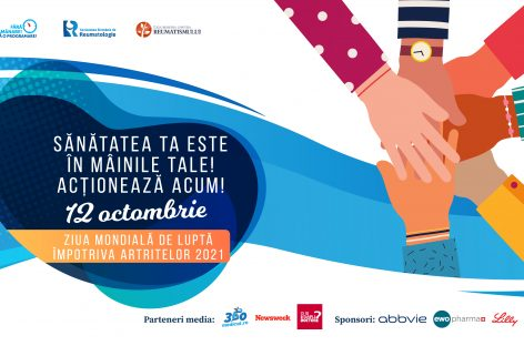 Ziua Mondială de Luptă Împotriva Artritelor: Pacienții cu boli reumatice solicită continuarea îngrijirii și a tratamentului, inclusiv în regim de telemedicină