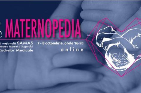 Asociația SAMAS vă invită la conferința MATERNOPEDIA 2021
